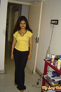 Neha bhabhi in her favorite yellow western outfits