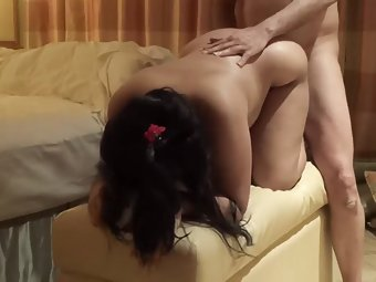 Indian Amateur Wife Fucked Hard Doggy Style Sex Video