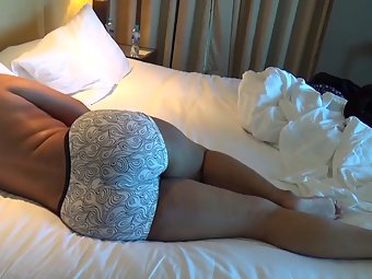 Juicy Indian Wife Lying Naked In Bed