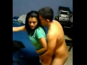 Indian college couple homemade fucking