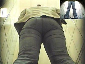 Hidden cam fixed in publc toilet