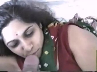 Indian Bhabhi Sucking Cock