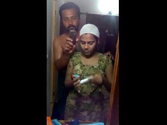 Mallu Big Boob Plumpy Housewife Shower